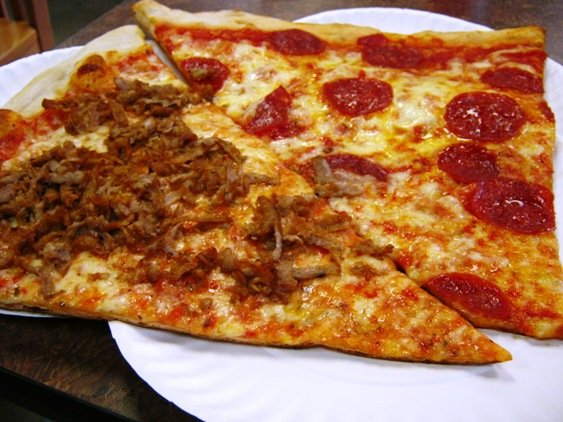 Two slice lunch combo at Randy's Pizza in RTP - NC Triangle Dining
