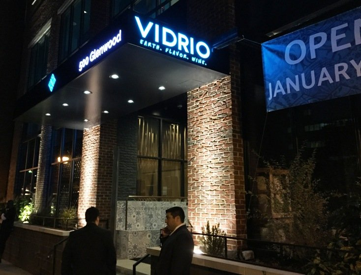 Front of the new Vidrio in Raleigh - NC Triangle Dining