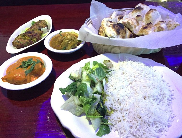 Non-vegetarian lunch feast at Kababish Cafe in Cary - NC Triangle Dining
