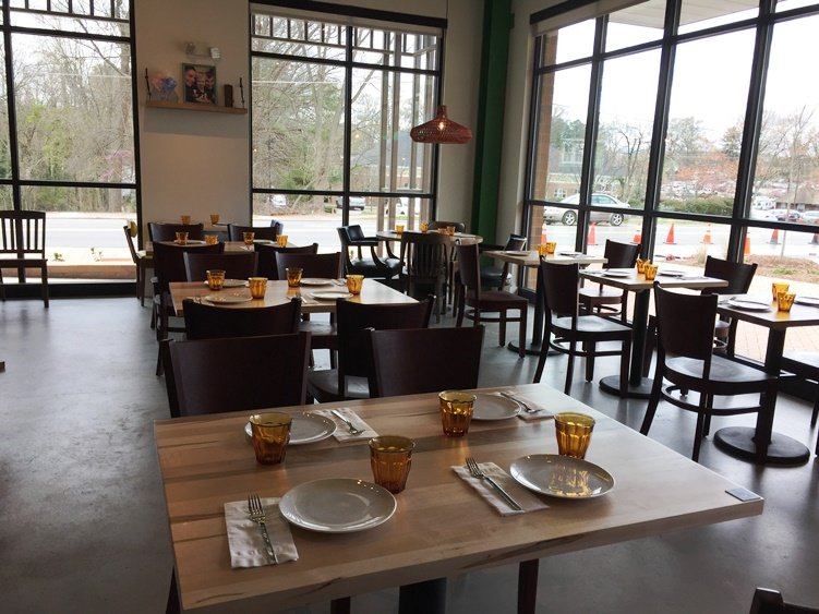 Dining room at Pizzeria Faulisi in Cary - NC Triangle Dining