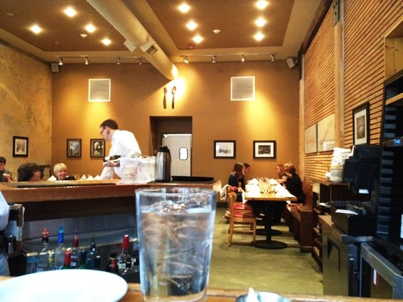 Interior of Rue Cler in Durham - NC Triangle Dining