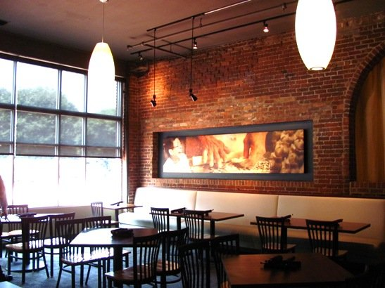 Dining room at David's Dumpling & Noodle Bar in Raleigh - NC Triangle Dining