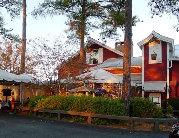 Front of Angus Barn, Raleigh- NC Triangle Dining