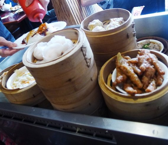 Namesake dishes from Dim Sum House, Morrisville- NC Triangle Dining