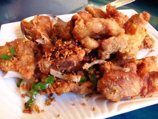 Salt & pepper pork chops from Dim Sum House, Morrisville- NC Triangle Dining