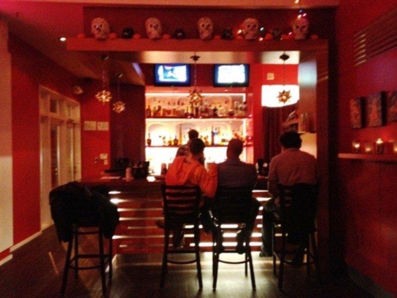Bar at Calavera in Raleigh, NC Triangle Dining