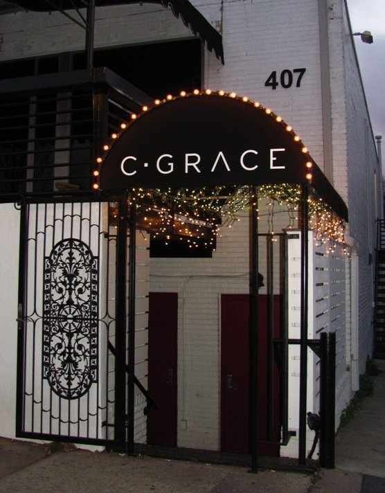 Front of C Grace Bar in Raleigh, NC Triangle Dining
