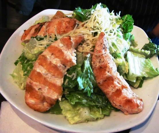 Caesar salad at Tobacco Road Sport in Durham, NC Triangle Dining