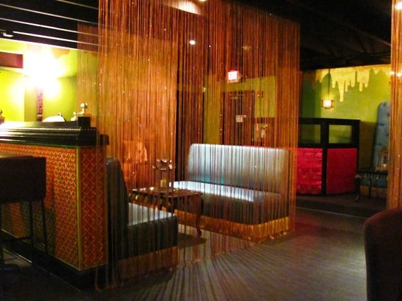 Booths at Empress Room in Raleigh, NC Triangle Dining
