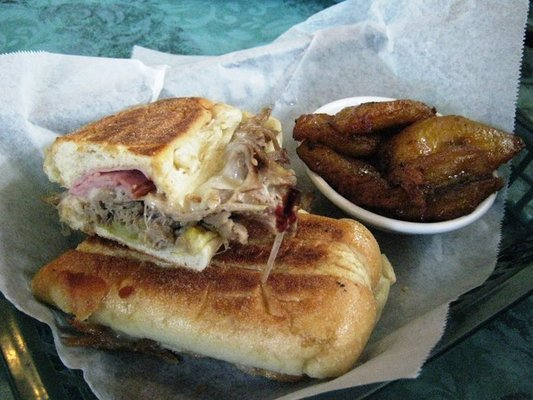 Cuban sandwich at the Oakwood Cafe in Raleigh - nctriangledining.com