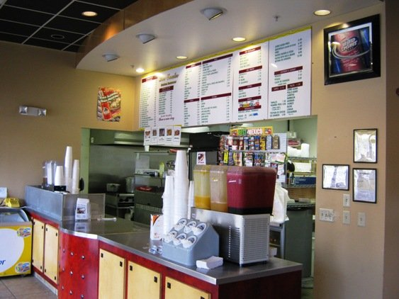 Counter at Los Cuates in Raleigh, NC Triangle Dining