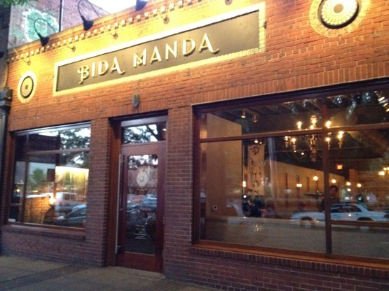 Front of Bida Manda in Raleigh - NC Triangle Dining