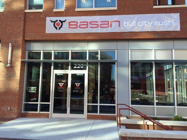 Front of Basan in Durham, NC Triangle Dining