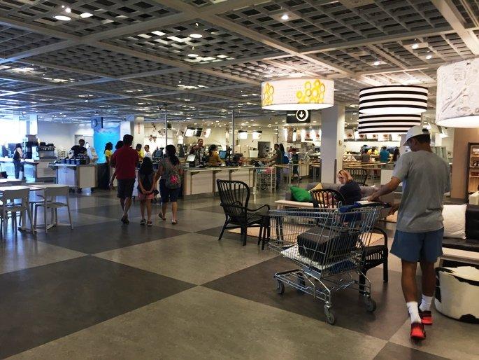 Stylish Swedish Furniture And Savory Eats At Ikea In