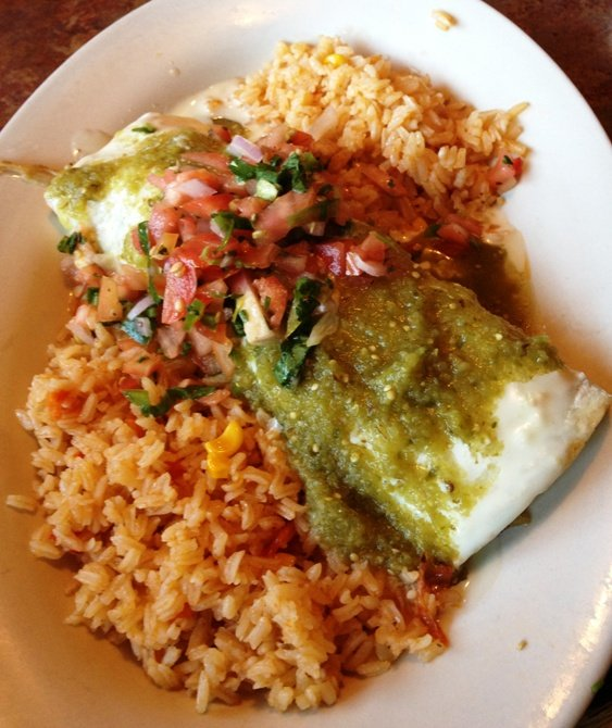 Smothered carnitas burrito at La Cocina in Cary - NC Triangle Dining