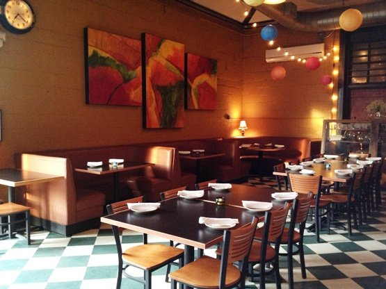 Interior of Humble Pie, Raleigh- NC Triangle Dining