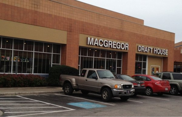 Front of MacGregor Draft House, Cary on NC Triangle Dining