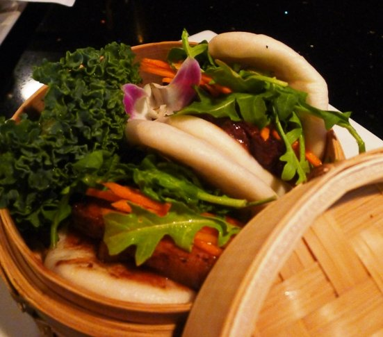 Pork belly buns at Sono, Raleigh- NC Triangle Dining
