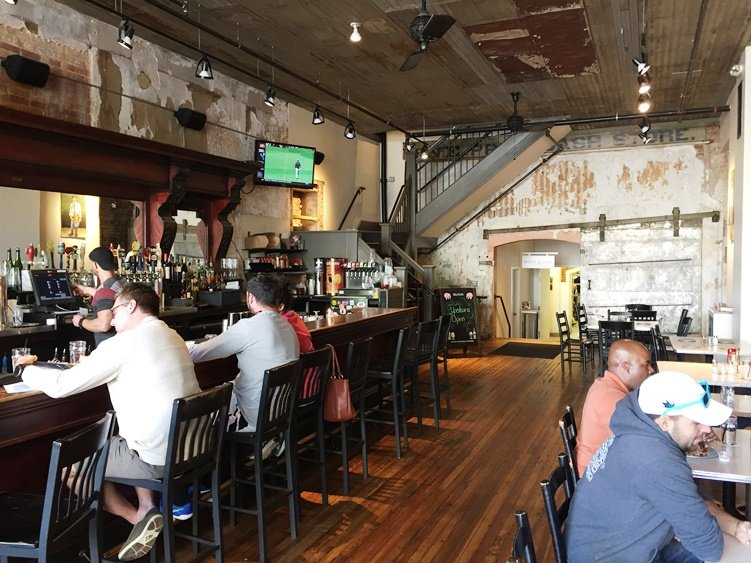 2nd main bar at the Raleigh Times, NC Triangle Dining
