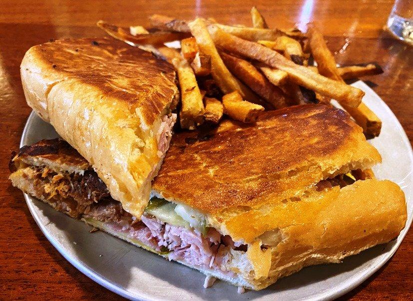 Cuban sandwich at Raleigh Times Bar, nctriangledining.com