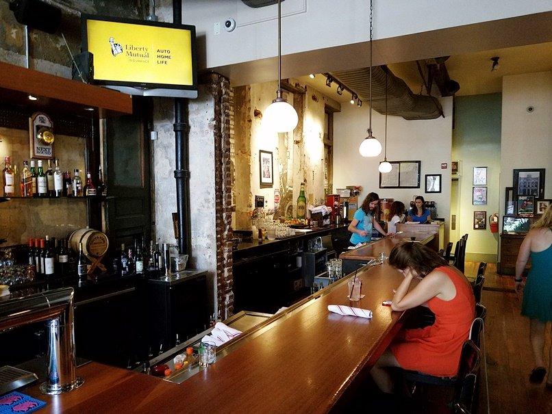 Original main bar at Raleigh Times Bar- nctriangledining.com