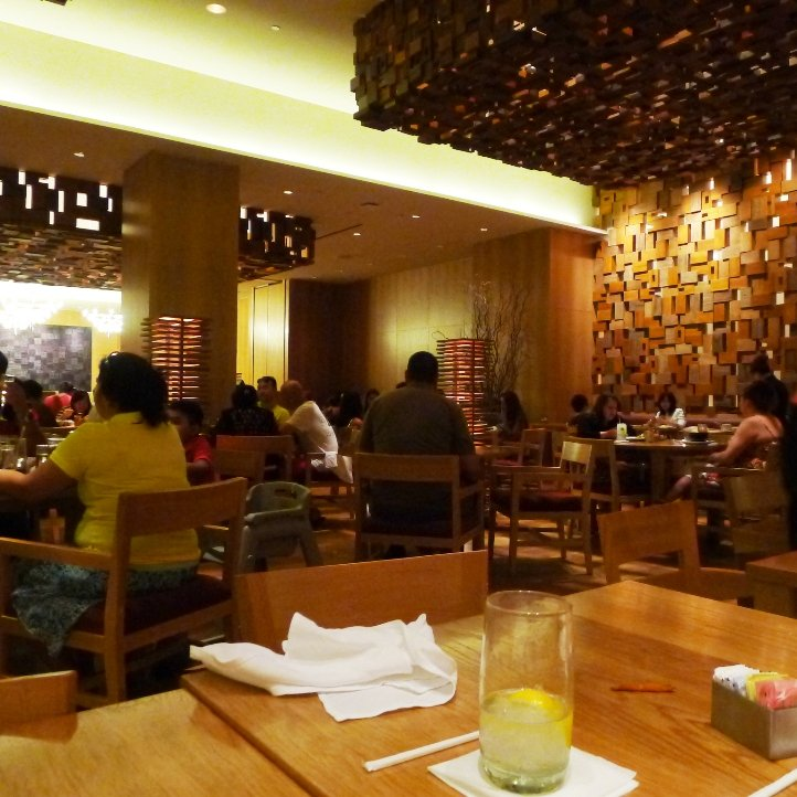 Dining area at Bacchanal Buffet, Las Vegas NV- NC Triangle Dining