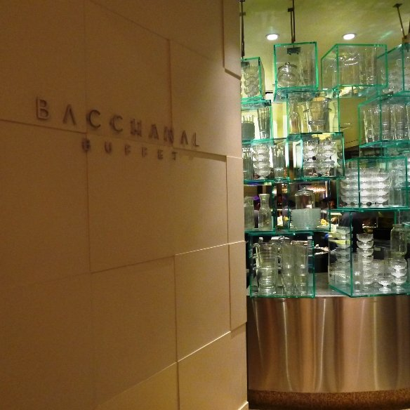 Entrance to Bacchanal Buffet, Las Vegas NV- NC Triangle Dining