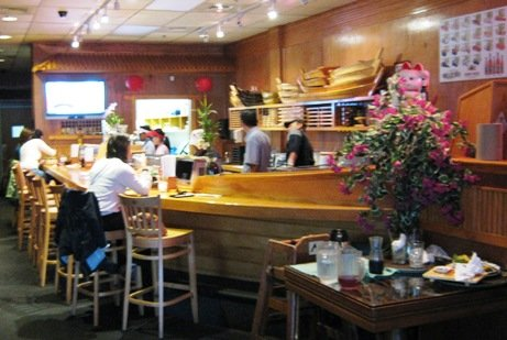 Sushi bar at Sushi-Thai, Cary- NC Triangle Dining