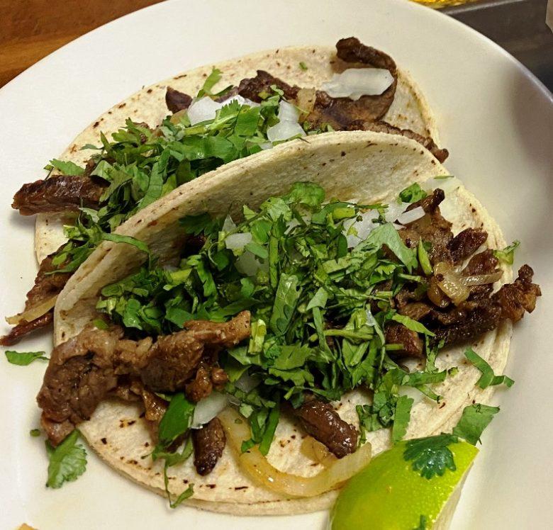 Carne asada tacos at Taqueria El Toro in Raleigh - nctriangledining.com