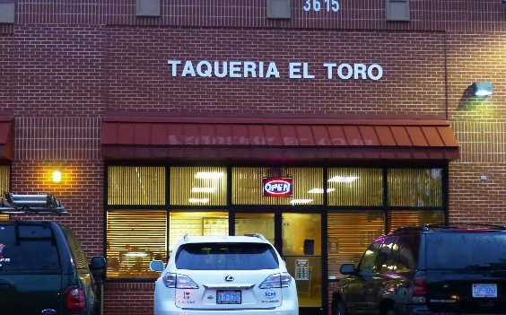 Taqueria El Toro in S. Raleigh, NC Triangle Dining