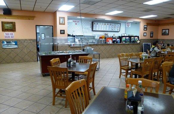 Basic interior at Taqueria El Toro in S. Raleigh, NC Triangle Dining