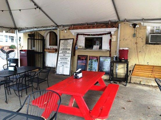 Order window at Alamo BBQ, Richmond VA- NC Triangle Dining