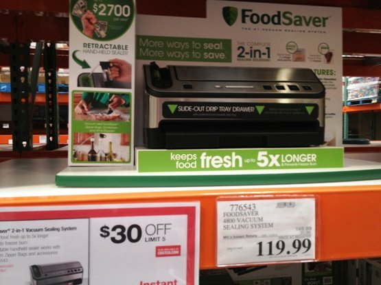 Foodsaver at Costco Raleigh- NC Triangle Dining