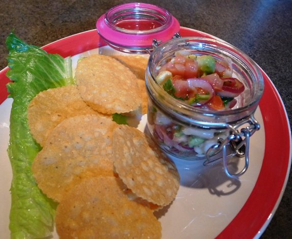 Seafood ceviche at Jose and Sons, Raleigh- NC Triangle Dining