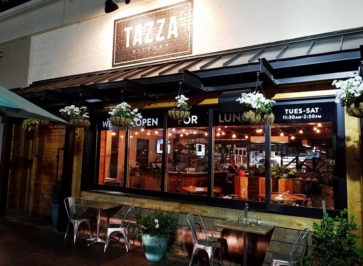 Tazza Kitchen in Raleigh for Great Pizza and Small Plates - NC ...