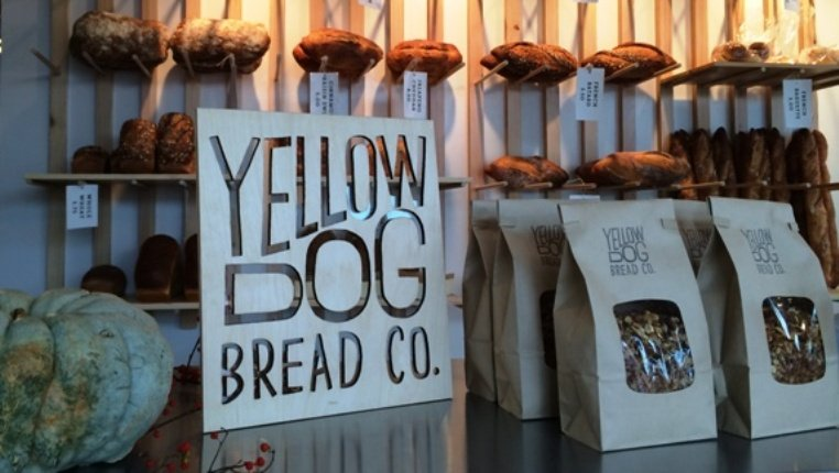 Inside of Yellow Dog Bread, Raleigh- NC Triangle Dining