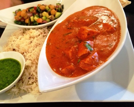 Chicken tikka masala at Cilantro Indian in Cary, NC Triangle Dining