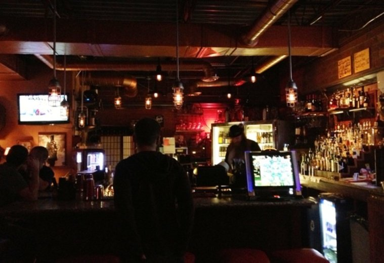 Bar at Flash House, Raleigh- NC Triangle Dining