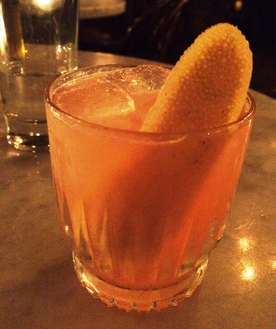 Bourbon sour at the Greenlight, Raleigh- NC Triangle Dining