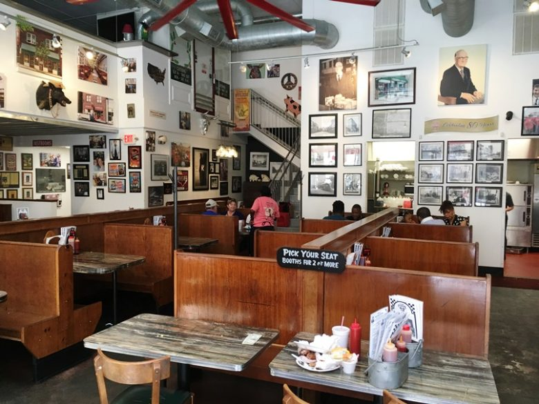 Dining room at the new Clyde Cooper's Barbeque, Raleigh- NC Triangle Dining