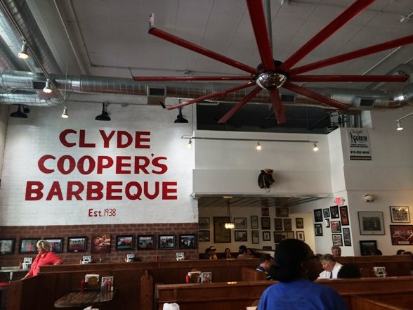 The new Clyde Cooper's Barbeque on Wilmington Street, Raleigh- NC Triangle Dining