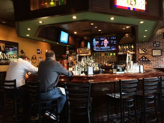 Bar at Doherty's Irish Pub, Cary- NC Triangle Dining