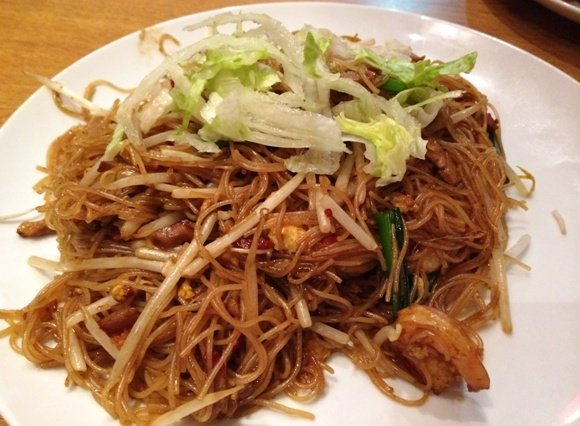 Singapore noodles at Red Pepper Asian in Raleigh-  NC Triangle Dining