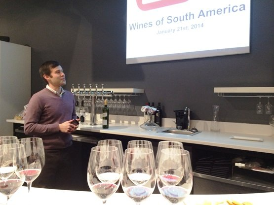 Wine class at the Wine Feed, Raleigh- NC Triangle Dining