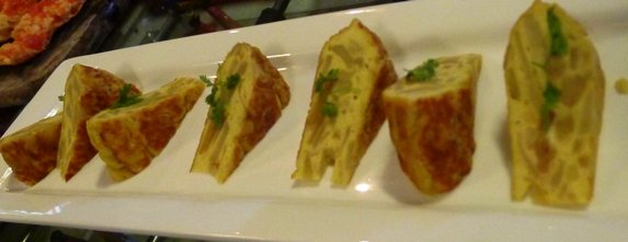 Tortilla espanola at Jaleo in Washington, DC- NC Triangle Dining