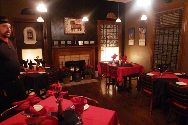 Cozy dining room at Tasca Brava in Raleigh- NC Triangle Dining