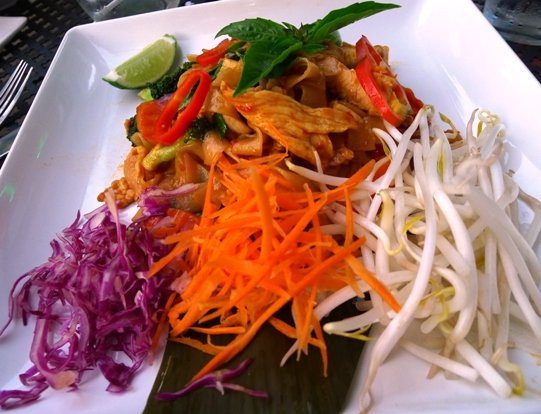 Pad kee mao at Thaiphoon in Raleigh, NC Triangle Dining
