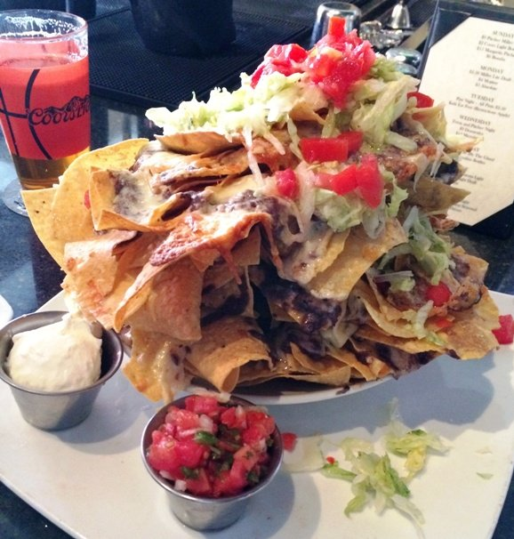 Nachos from Tobacco Road Sports Cafe in Durham- NC Triangle Dining
