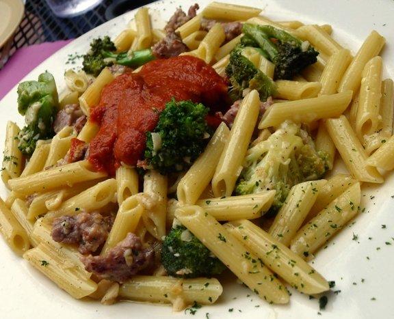 Penne alla Vecchi Romana at Vic's Ristorante in Raleigh- NC Triangle Dining
