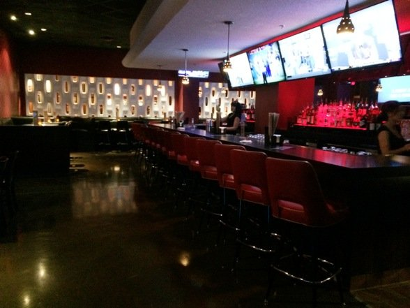 Crimson bar at Kings Bowl North Hills in Raleigh- NC Triangle Dining